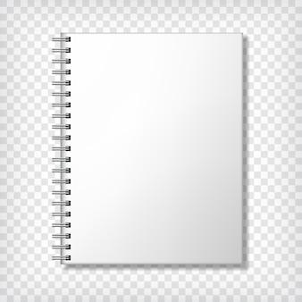 Пустой подробный блокнот