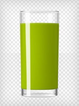 ガラスのグリーンスムージー