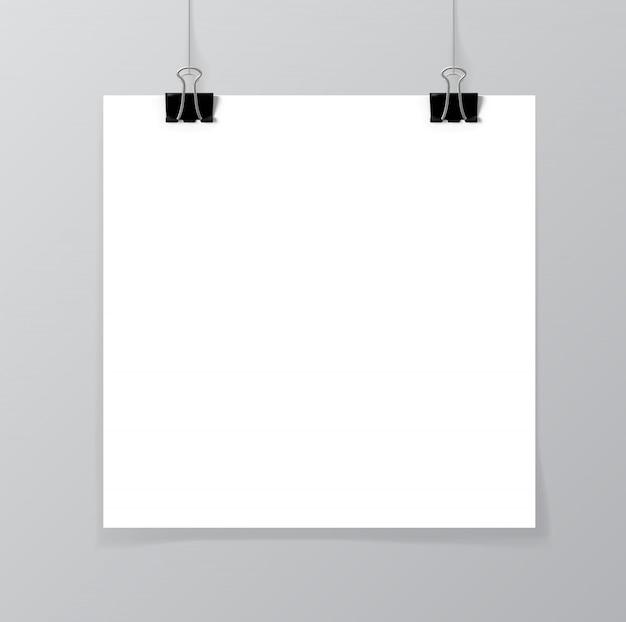Макет плаката