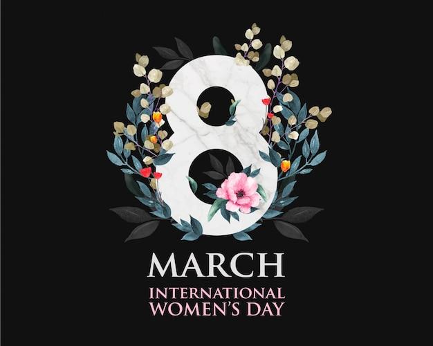 Международный женский день.