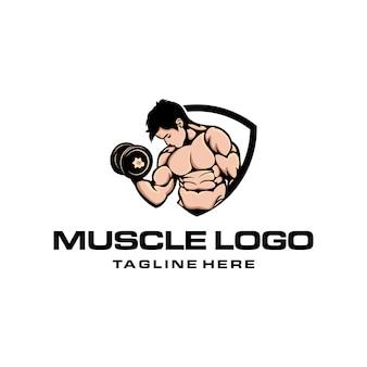 Мышечный логотип