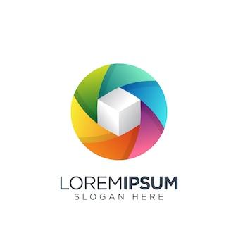 Фото коробка логотип