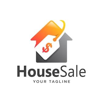 家販売ロゴグラデーションシンプルモダン