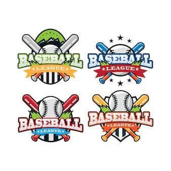 野球スポーツロゴ
