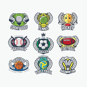 Спортивный международный логотип