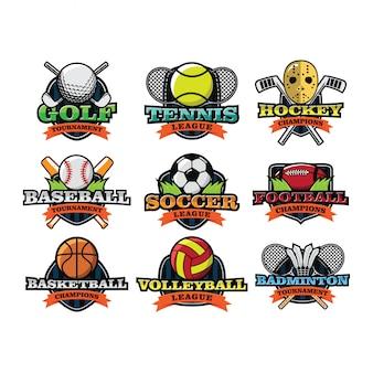 Спорт международный логотип вектор