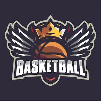 クラウンバスケットボールチームのロゴ