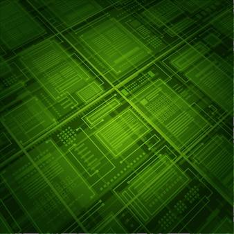 Абстрактная технология базы данных зеленая предпосылка соединений.