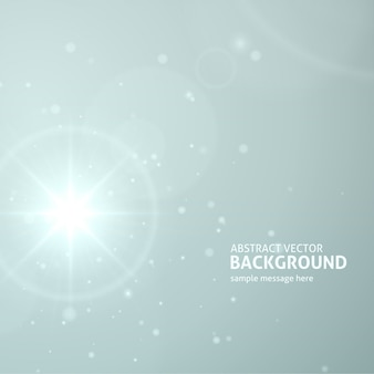 抽象的なレンズフレア光バーストまたは光線ベクトルの背景を持つ太陽。