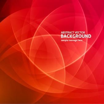 抽象的な赤い光線モダンな背景のベクトル図