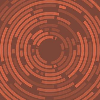 ベクトル抽象的な幾何学的な円線の背景。