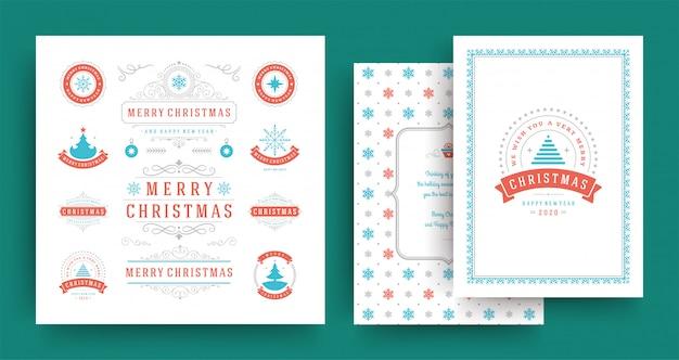 Рождественские наклейки и значки