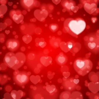 Размытый фон градиент сердца