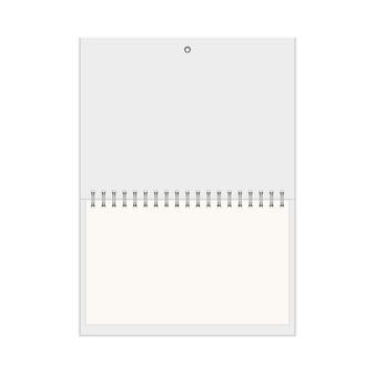 現実的な壁掛けカレンダー