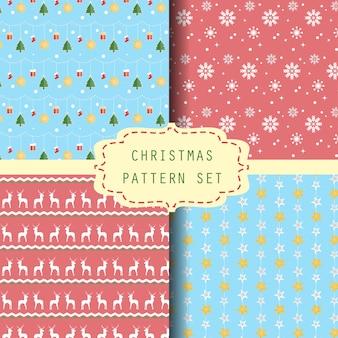 クリスマスパターンセット