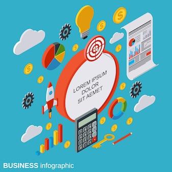 ビジネスインフォグラフィック