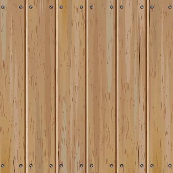 Старый деревянный вертикальный забор вектор фон