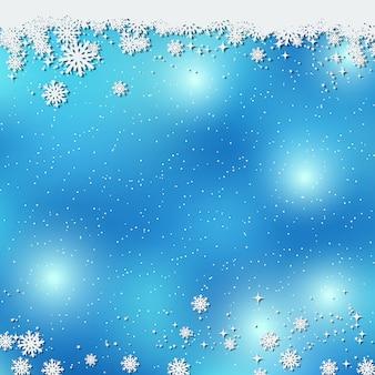 クリスマスと新年のベクトルの背景