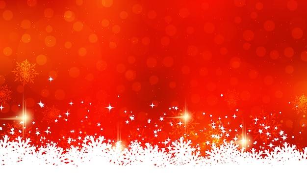 クリスマスと新年のイラスト