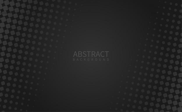 ハーフトーンスタイルのシンプルな黒の背景