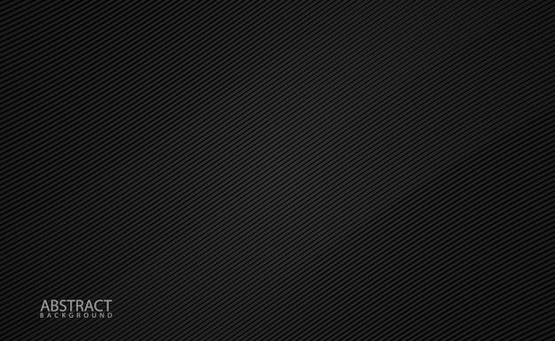 Минималистский черный фон с диагональной сеткой