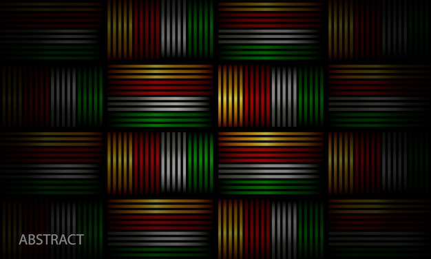 Блестящий геометрический фон перепончатая композиция