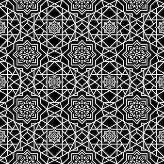 Геометрический батик