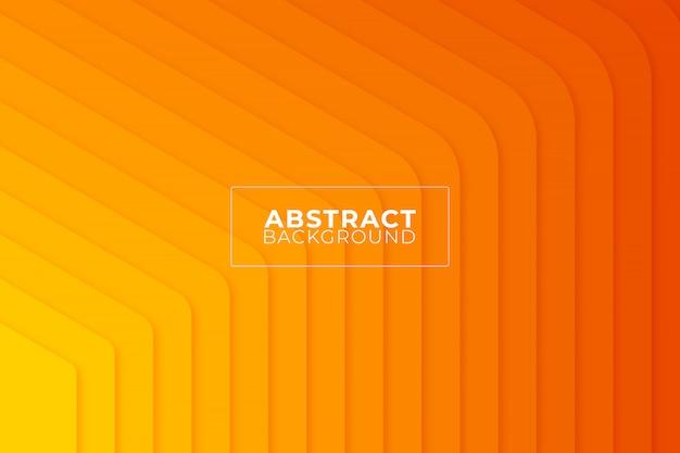 オレンジ色の幾何学的な抽象的な背景。