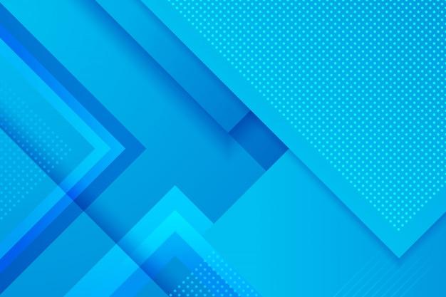 青の幾何学的な抽象的な背景。