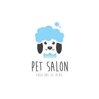 ペットサロンのロゴ