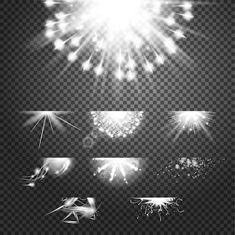 輝きの栄光効果。