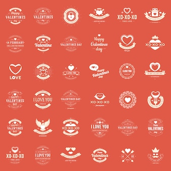 С днем святого валентина поздравительные открытки, наклейки, значки