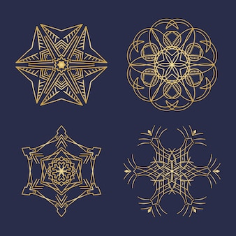 幾何学的なマンダラ