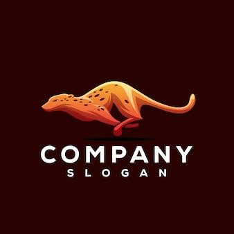 Гепард дизайн логотипа