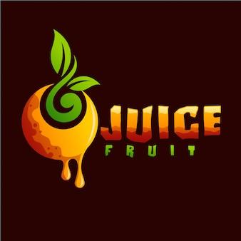 ジュースフルーツのロゴ
