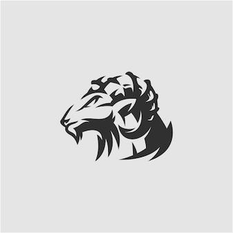 ヤギのロゴデザイン