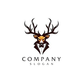 鹿のロゴデザイン