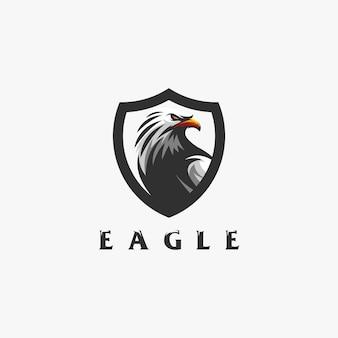 イーグルのロゴデザイン