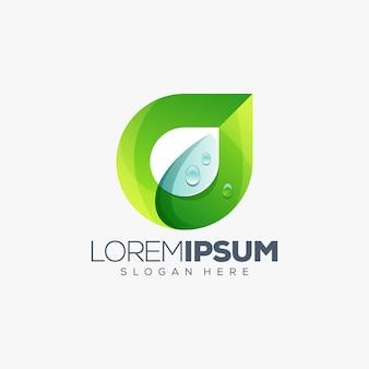 Лист дизайн логотипа