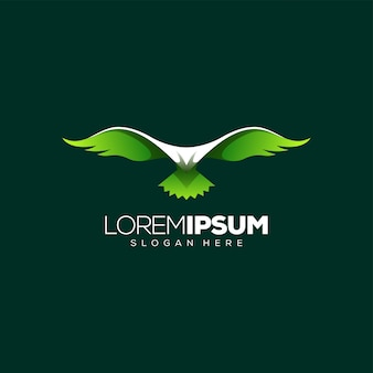 Потрясающий дизайн логотипа орла