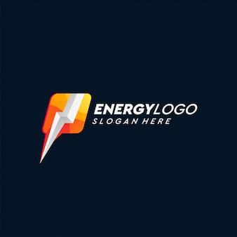 Энергетический дизайн логотипа
