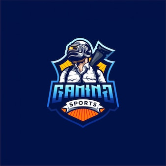 パブゲームのロゴデザイン