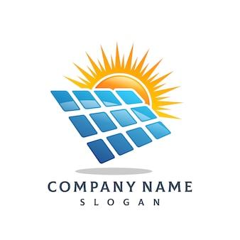 ソーラーパネルのロゴ