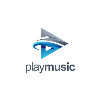 Воспроизвести музыку логотип