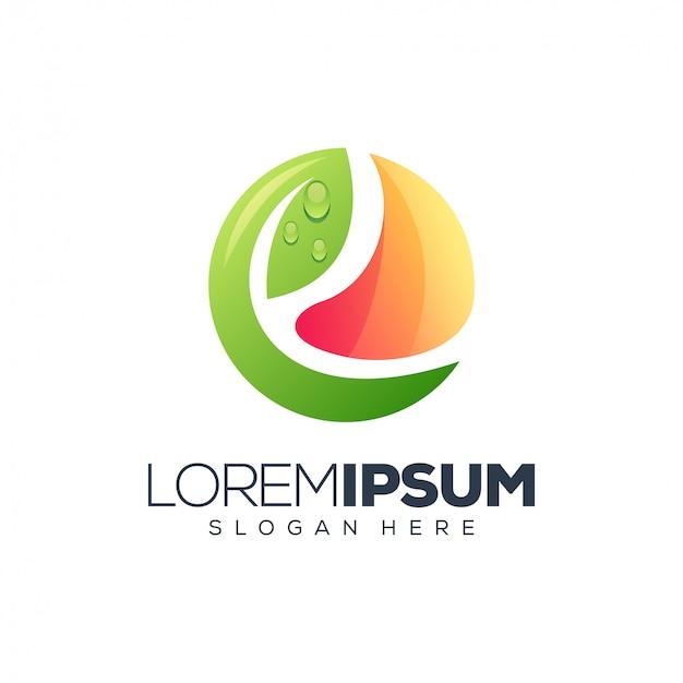 リーフのロゴデザイン