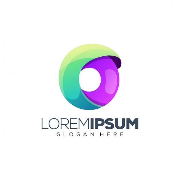 Буква о логотип