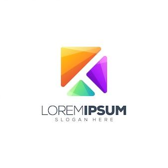 Буква к логотип