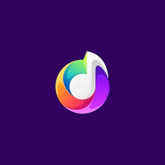 音楽ロゴデザイン