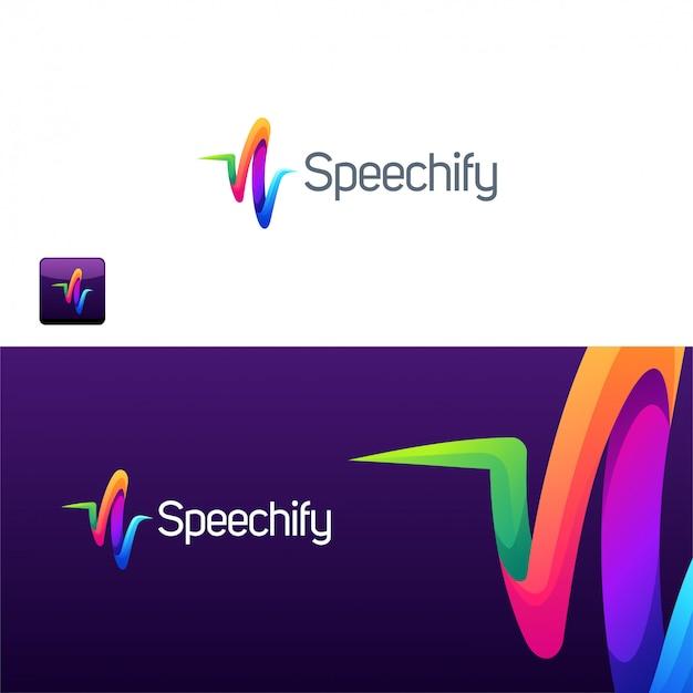 Абстрактная иллюстрация логотипа