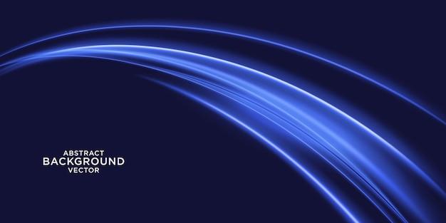 抽象的な青い光の背景